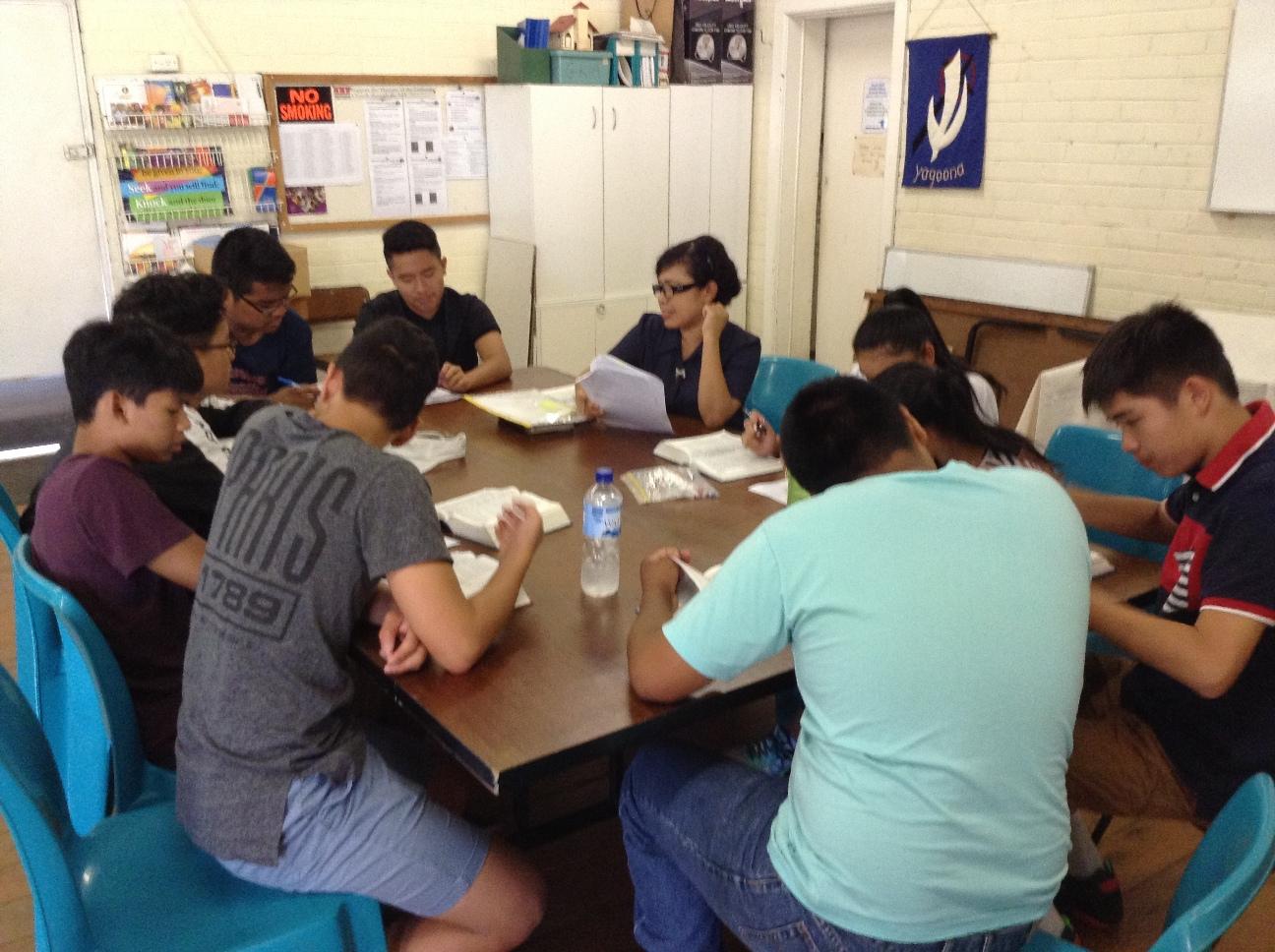 Sunday School class 3