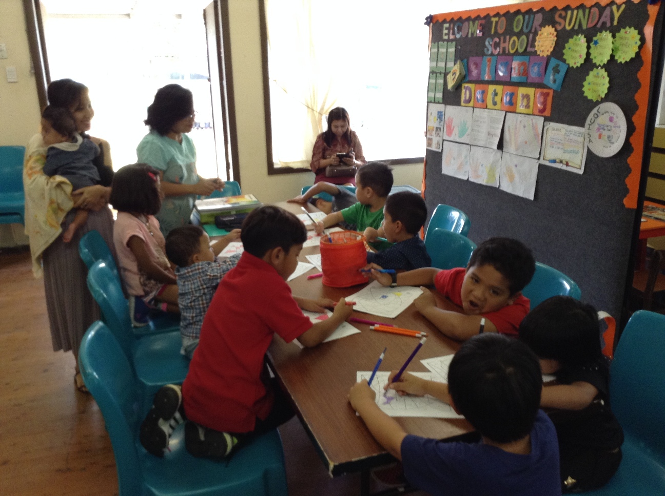 Sunday School class 1